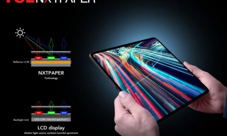 TCL Shows New Screens For Future Mobile Devices