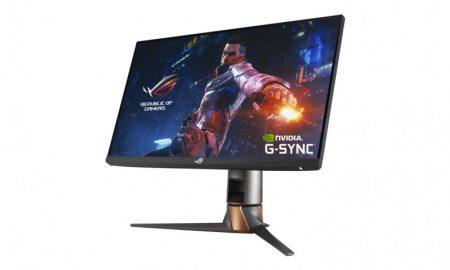 ASUS ROG Swift PG259QN monitor operates at up to 360 Hz