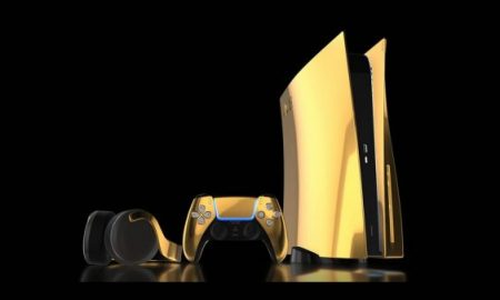 Meet the 24k gold PS5 console